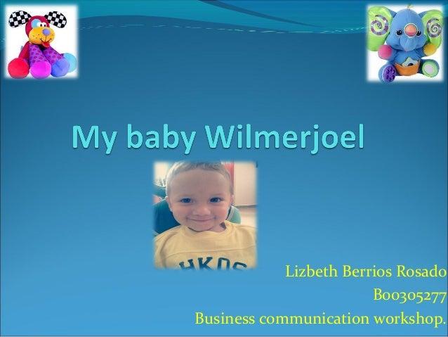 Lizbeth Berrios Rosado                        B00305277Business communication workshop.