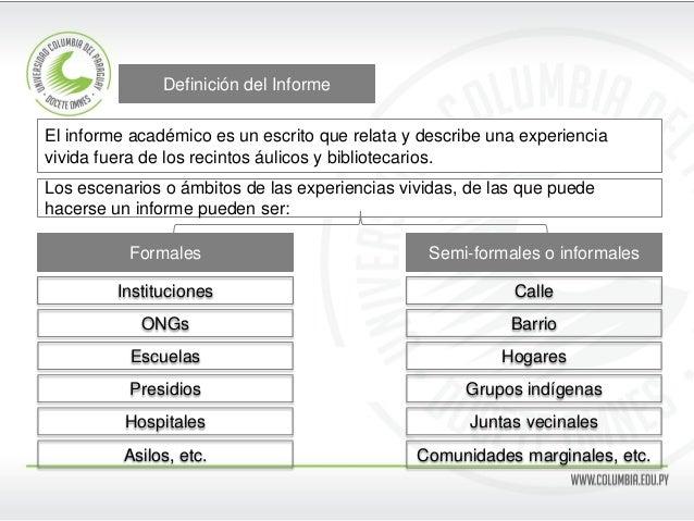 Informe Slide 2