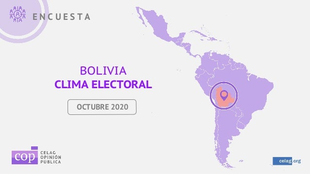 E N C U E S T A BOLIVIA CLIMA ELECTORAL OCTUBRE 2020
