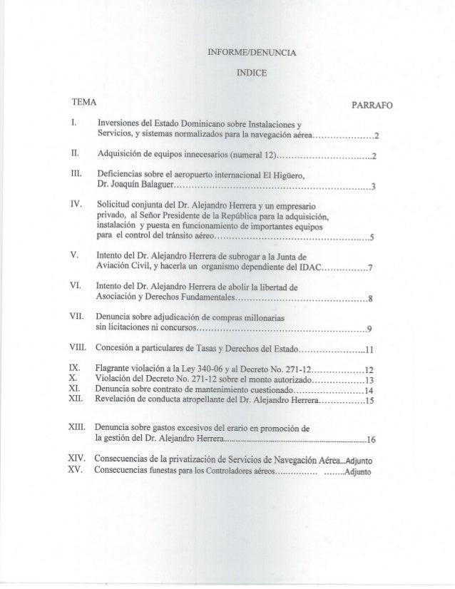 Informe  denuncia Slide 2