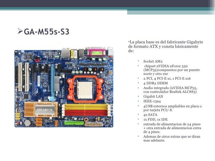 GIGABYTE GA-M55S-S3 NVIDIA CHIPSET DESCARGAR CONTROLADOR