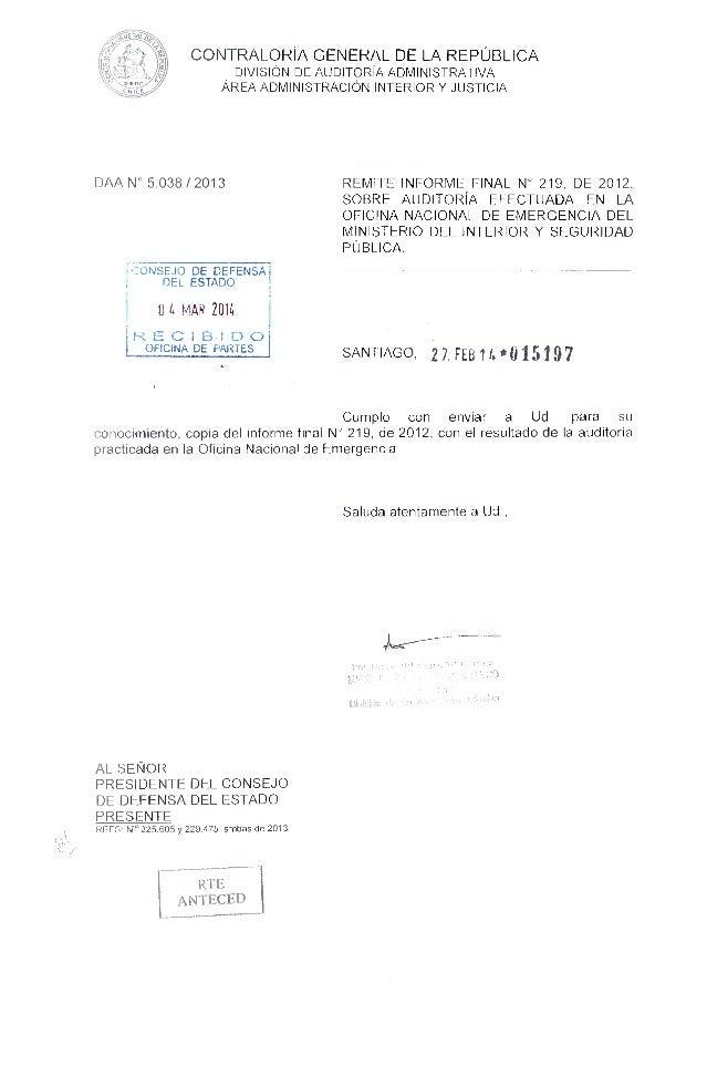 Informe informe finaln 219 2012 oficina nacional de for Oficina nacional de fiscalidad internacional