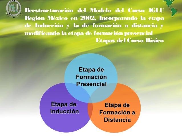 8 Etapa deEtapa de InducciónInducción Etapa deEtapa de Formación aFormación a DistanciaDistancia Etapa deEtapa de Formació...