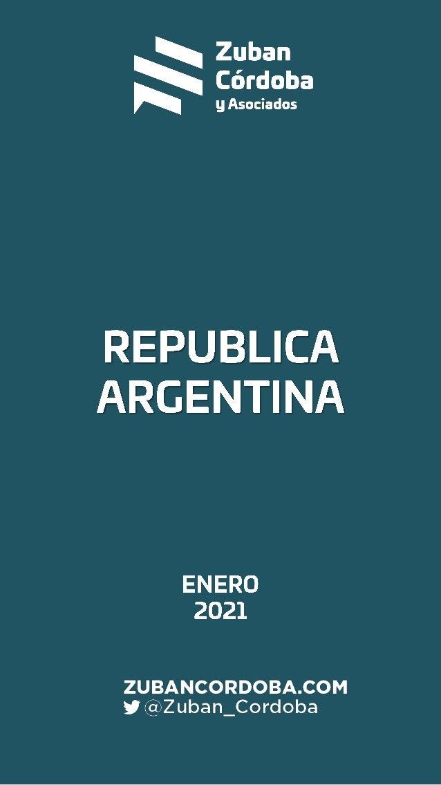 Informe Argentina Enero 2021