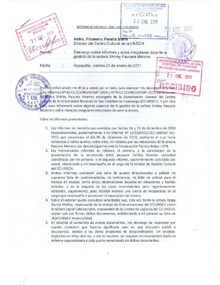 ANEXO 1      CARTAS DE INSTITUCIONES Y ORGANIZACIONES