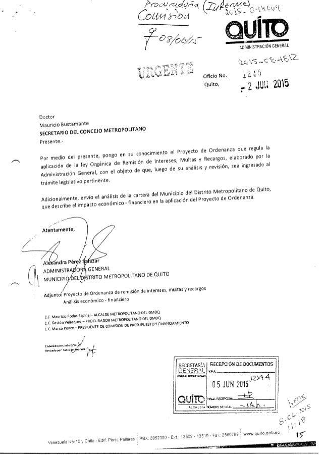 Informe 1er debate om remisi n intereses 300615 for Espejo quitamultas