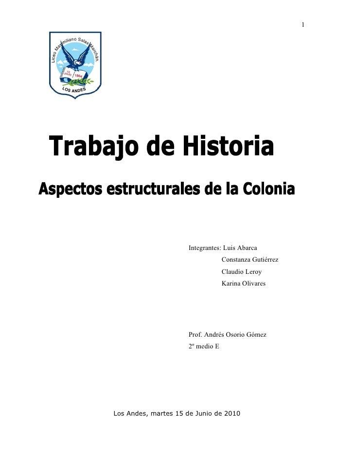 1                          Integrantes: Luis Abarca                                   Constanza Gutiérrez                 ...