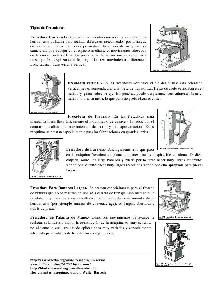 Informe 7 leadwell for Tipos de fresadoras