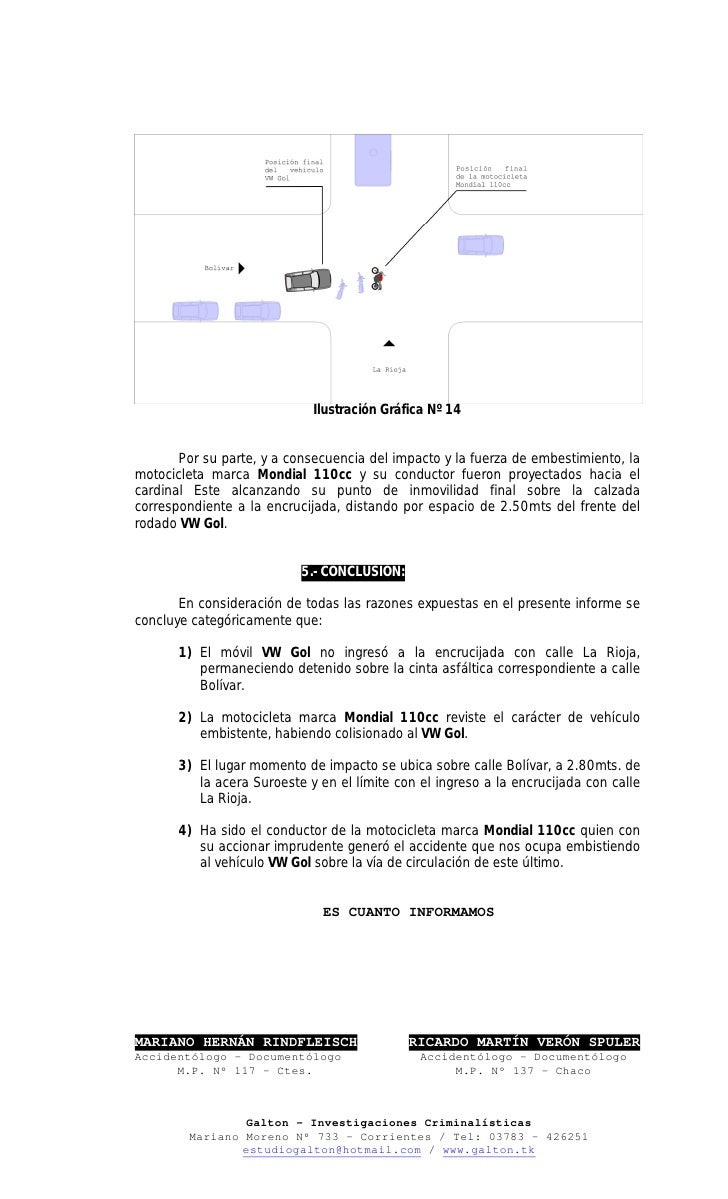 Informe AccidentolóGico Juzgado InstruccióN Nº 3