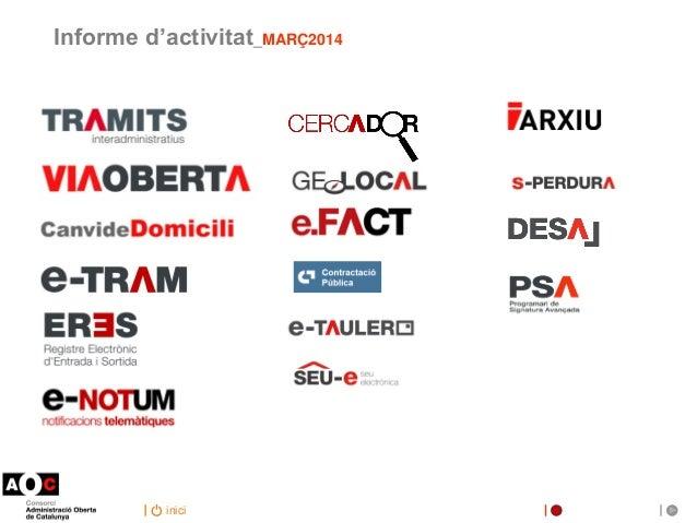 inici Informe d'activitat_MARÇ2014
