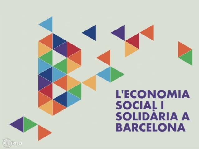 Informe: L'Economia Social i Solidària a Barcelona