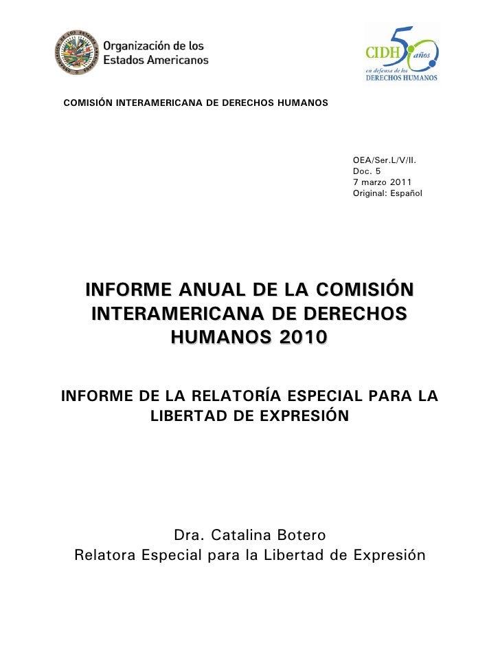 COMISIÓN INTERAMERICANA DE DERECHOS HUMANOS                                              OEA/Ser.L/V/II.                  ...