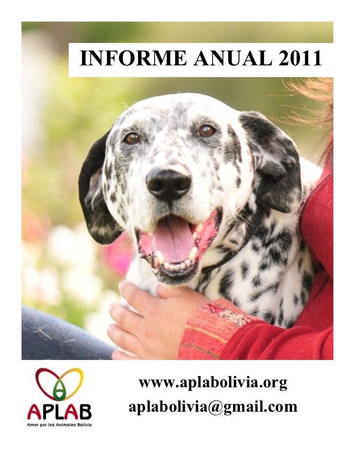 INFORME ANUAL 2011    www.aplabolivia.org   aplabolivia@gmail.com