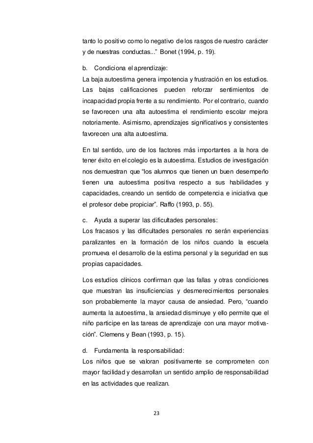 e81b02e2d Informe de Proyecto sobre autoestima