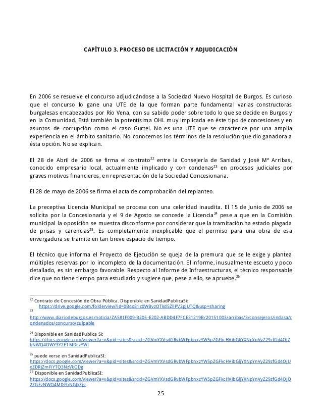 Informe basico para la recuperacion del hubu - Constructoras en burgos ...
