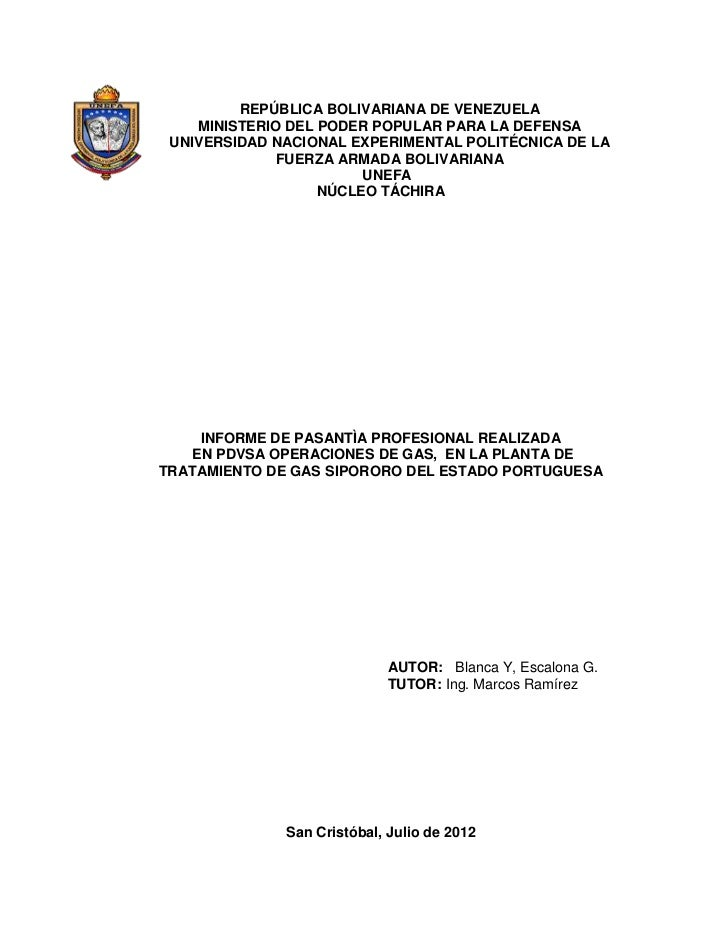 REPÚBLICA BOLIVARIANA DE VENEZUELA    MINISTERIO DEL PODER POPULAR PARA LA DEFENSA UNIVERSIDAD NACIONAL EXPERIMENTAL POLIT...