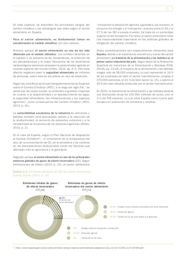 31 En este capítulo, se describen los principales riesgos del cambio climático y las estrategias que debe seguir el sector...