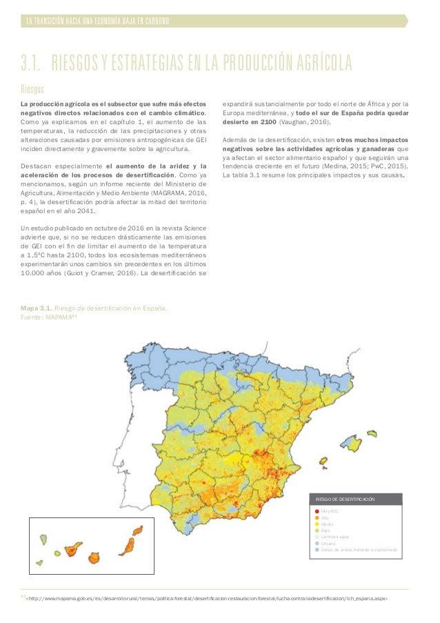 3.1. Riesgos y estrategias en la producción agrícola Riesgos La producción agrícola es el subsector que sufre más efectos...