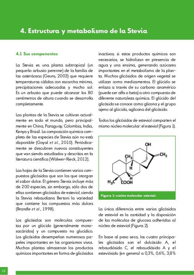 Informe científico - La Stevia y su papel en la salud