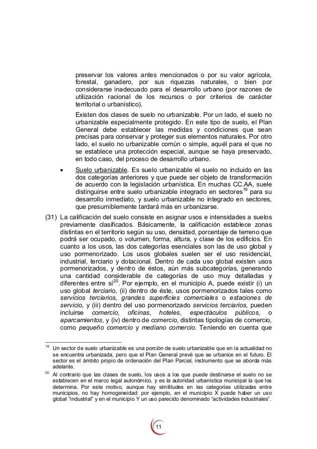 Informe cnc sobre el mercado de suelo en espa a for Suelo no urbanizable