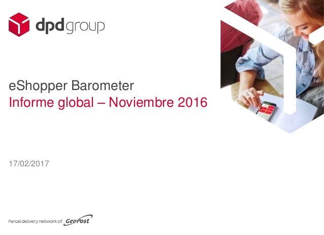 17/02/2017 eShopper Barometer Informe global – Noviembre 2016