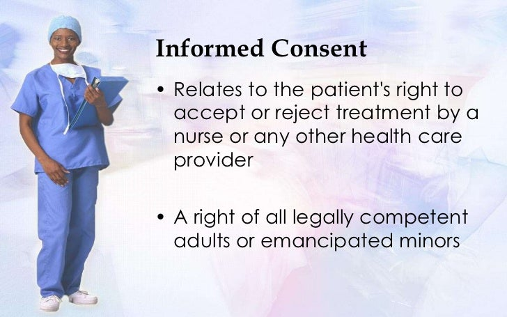 the doctrine of informed consent 1 communicating with dying patients: informed consent, physician first amendment rights, and state regulation in the united states w eugene basanta, usa.