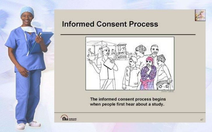 the doctrine of informed consent History and development of the doctrine of informed consent (american alliance for health, physical education, recreation and dance) 2011 adult competent individuals have the right to make their own health care decisions under the united states.