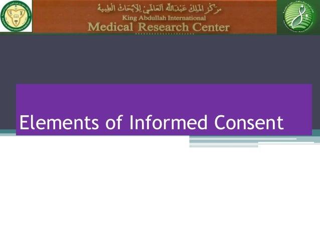 FDA Updates Informed Consent Guidance  Weinberg Group