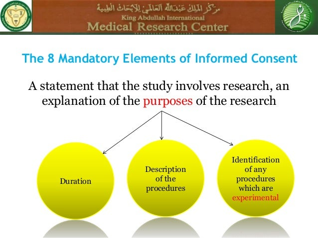 informed consent definition amp elements