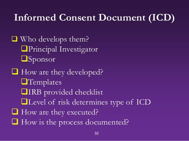 INFORMED CONSENT Pledge Promise Contract Or Platitude Key Aspect - Informed consent process documentation template