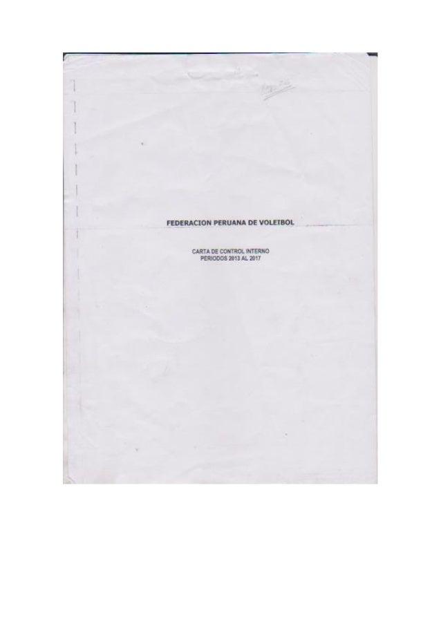 Informe de auditoria a la FPV por Lazaro, Curotto y Asociados