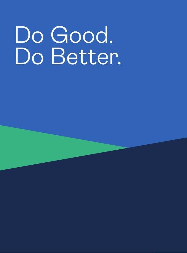 4 Do Good. Do Better.