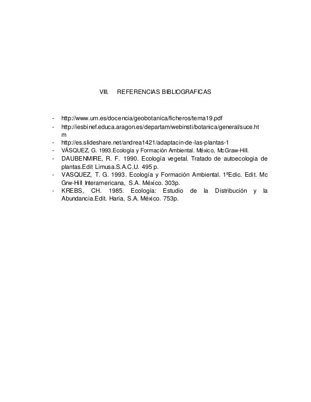 Adaptaciones morfologicas de las plantas for Botanica general pdf