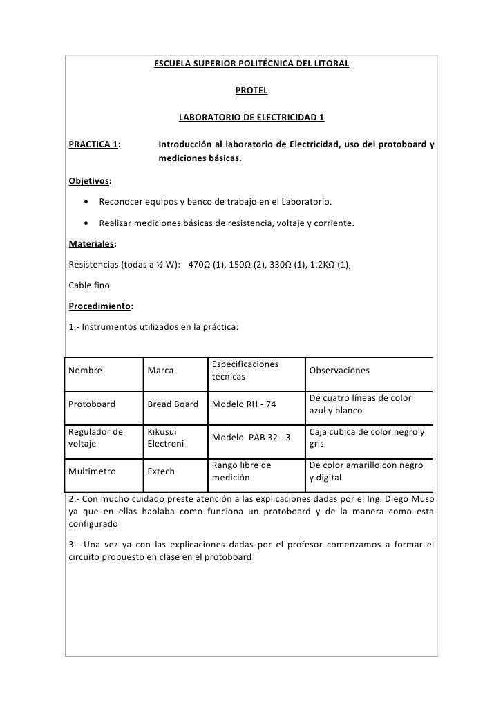 ESCUELA SUPERIOR POLITÉCNICA DEL LITORAL                                            PROTEL                              LA...