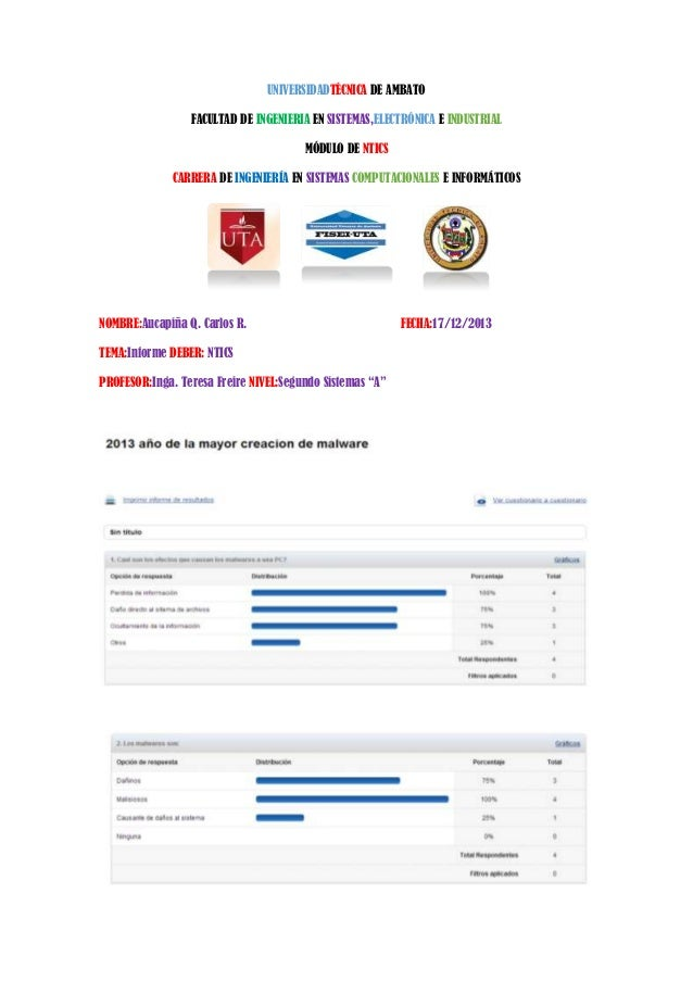 UNIVERSIDADTÉCNICA DE AMBATO FACULTAD DE INGENIERIA EN SISTEMAS,ELECTRÓNICA E INDUSTRIAL MÓDULO DE NTICS CARRERA DE INGENI...