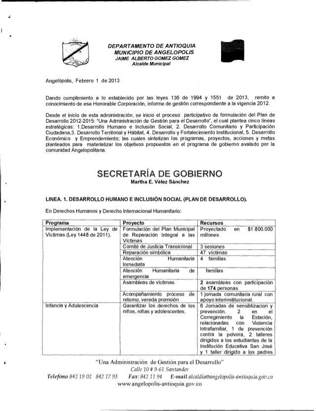 DEPARTAMENTO DE ANTIOQUIA                              MUNICIPIO DE ANGELOPOLIS                                JAIME ALBER...