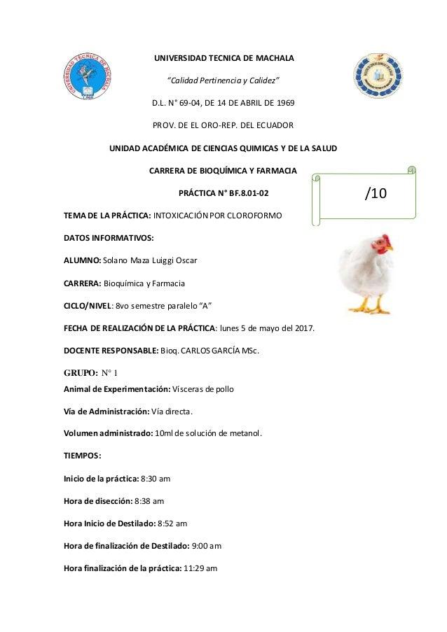 "UNIVERSIDAD TECNICA DE MACHALA ""Calidad Pertinencia y Calidez"" D.L. N° 69-04, DE 14 DE ABRIL DE 1969 PROV. DE EL ORO-REP. ..."