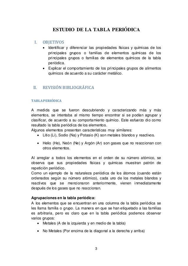 Informe n4 34 3 3 estudio de la tabla peridica urtaz Choice Image