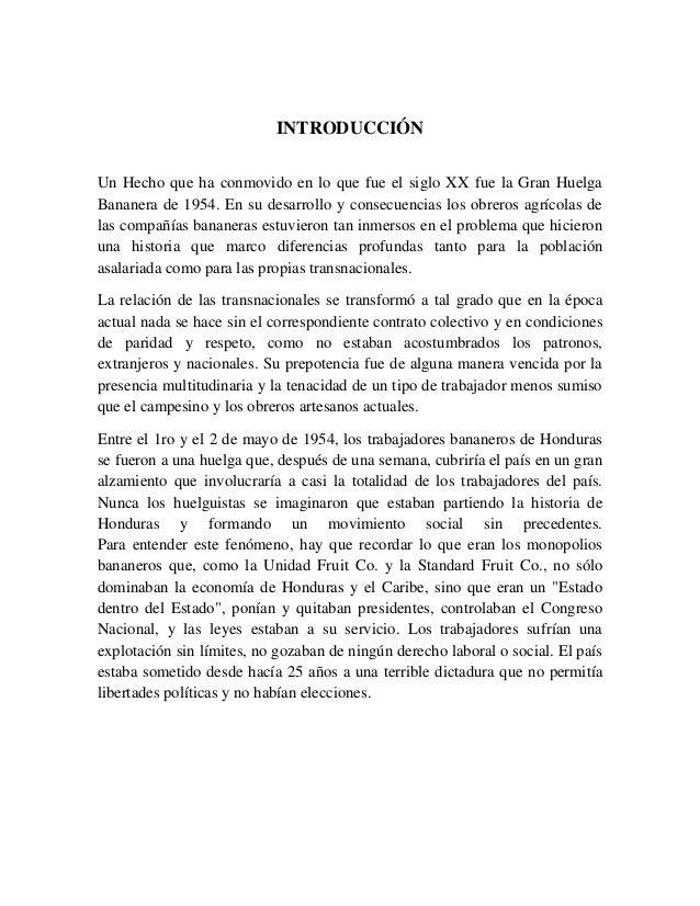 Informe de la huelga de 1954