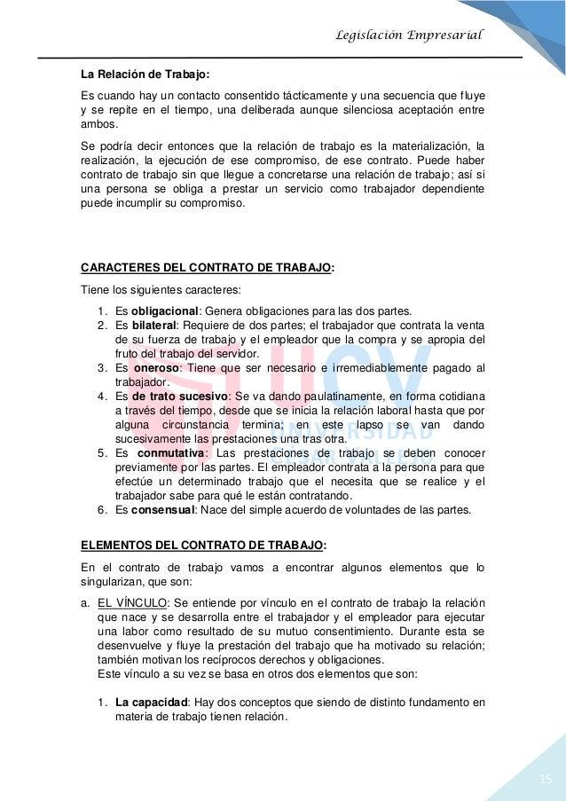 el derecho laboral y contrato de trabajo On contrato laboral