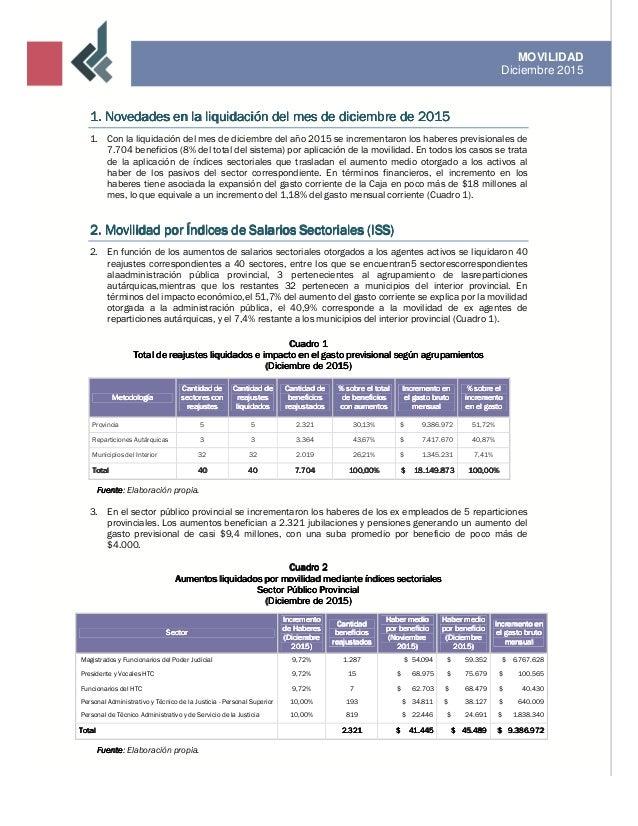 Informe de movilidad / Diciembre 2015 Slide 3