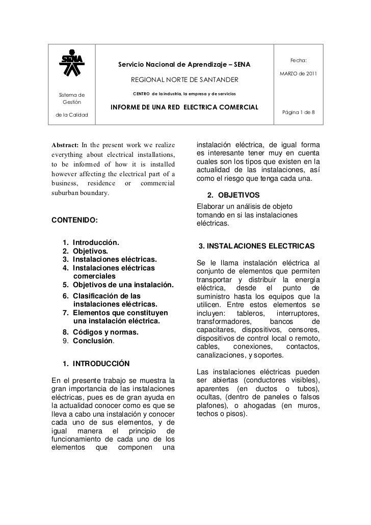 Fecha:                      Servicio Nacional de Aprendizaje – SENA                                                       ...