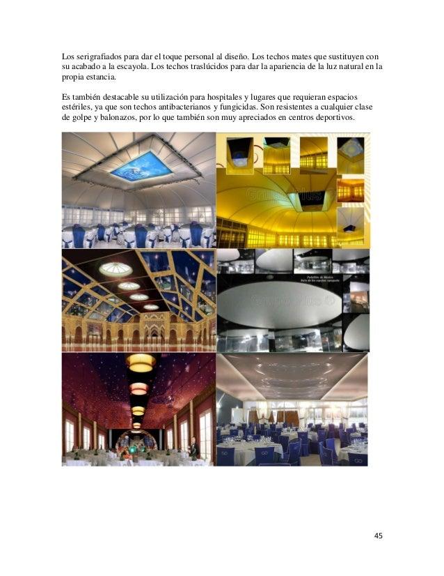 Tecnicas y acabados en dise o de interiores for Curso de diseno de interiores en linea