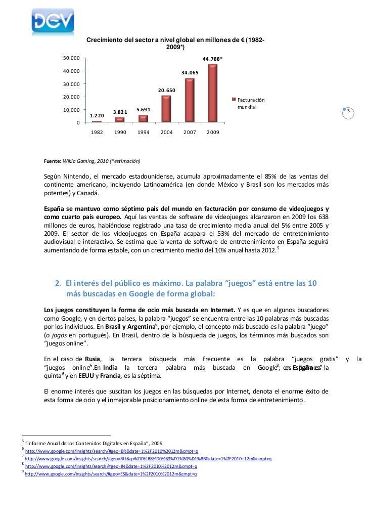 La Industria del Desarrollo de Videojuegos en España 2010 Slide 3