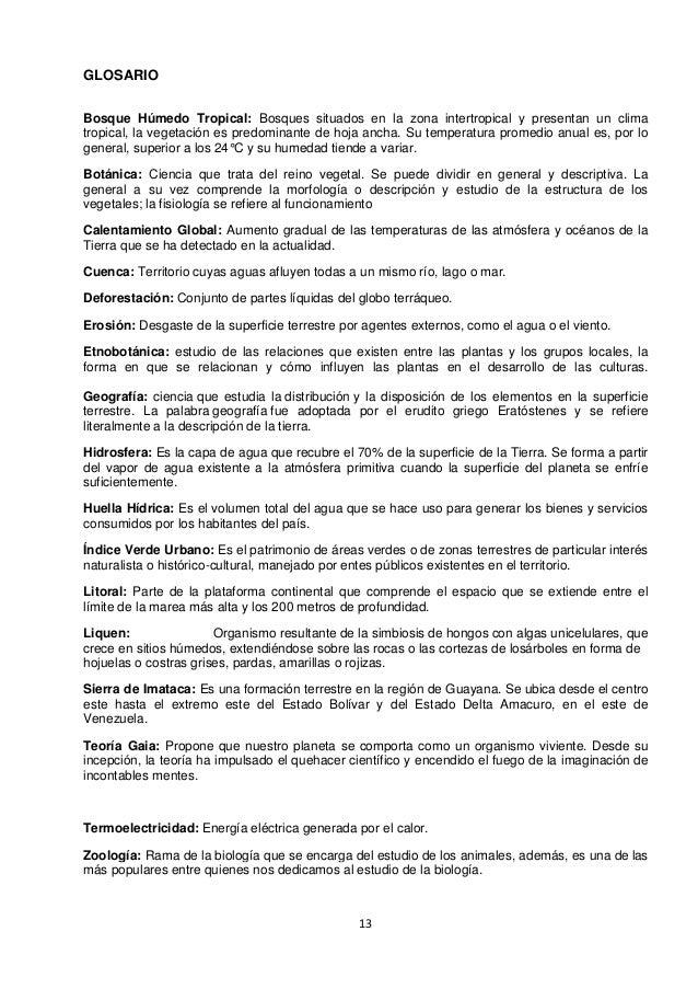 Informe ecolog a for Botanica general pdf