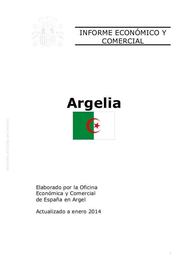 informe economic i comercial argelia icex 2014