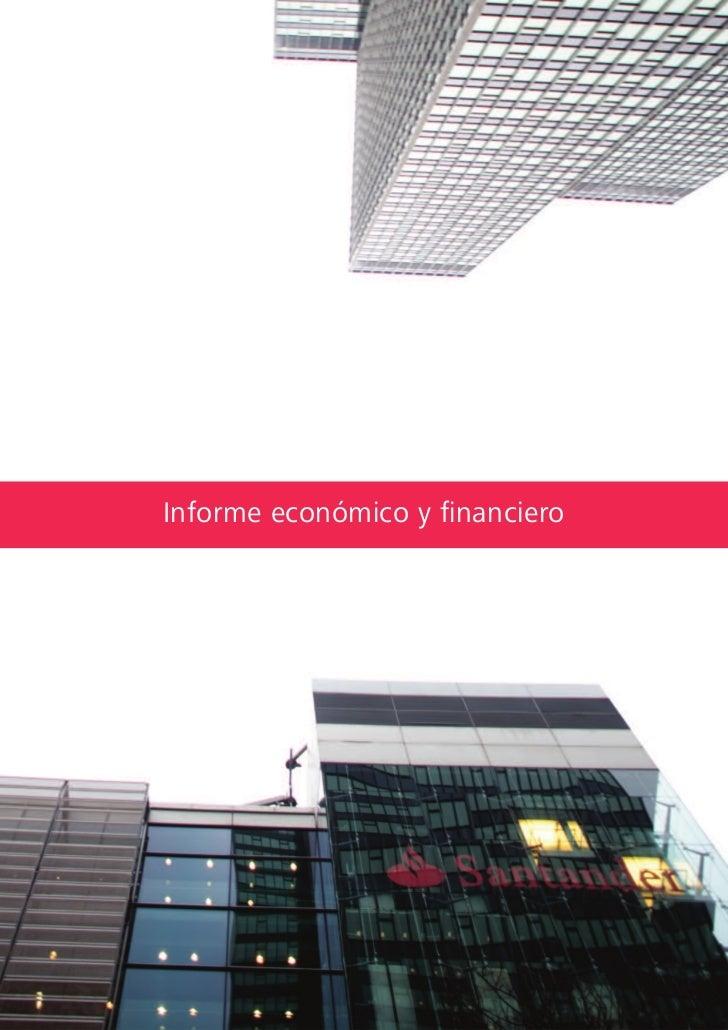 Informe económico y financiero78