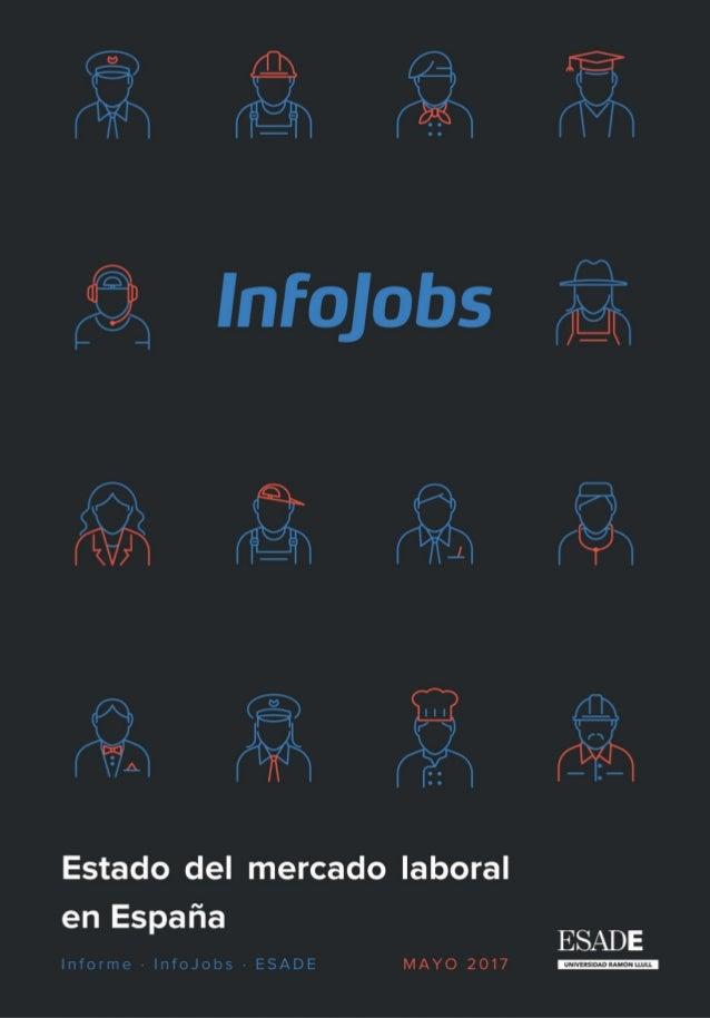 Informe InfoJobs ESADE 2016 I Estado del mercado laboral en España 3 Presentación Por octavo año consecutivo, InfoJobs y E...