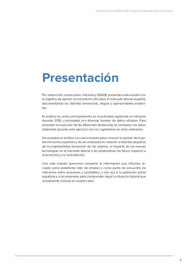 Informe Anual sobre el Estado del Mercado Laboral en España Slide 3