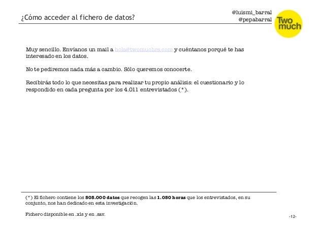 @luismi_barral @pepabarral ¿Cómo acceder al fichero de datos? Muy sencillo. Envíanos un mail a hola@twomuchrs.com y cuénta...
